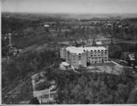 Aerial photograph of Bethany Lutheran College taken in 1935.