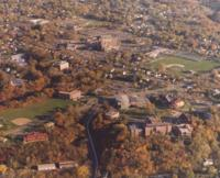 Aerial photograph of Bethany Lutheran College taken in 1999.