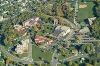 Aerial photograph of Bethany Lutheran College taken in 2000.