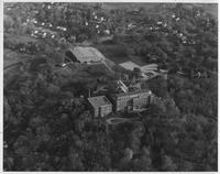 Aerial photograph of Bethany Lutheran College taken in 1963.