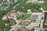 Aerial photograph of Bethany Lutheran College taken in 1996.