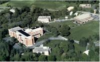 Aerial photograph of Bethany Lutheran College taken circa 1982.