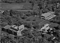 Aerial photograph of Bethany Lutheran College, unknown year.