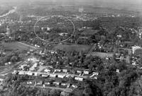 Aerial photograph of Bethany Lutheran College taken in the 1960s.