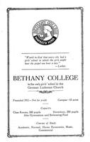 Ladies College prospectus 1912.