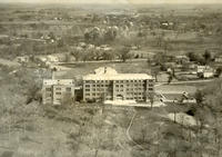 Aerial photograph of Bethany Ladies College in an unknown year.