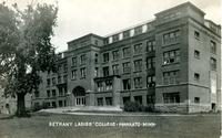 Front view of Bethany Ladies College, Mankato, MN.