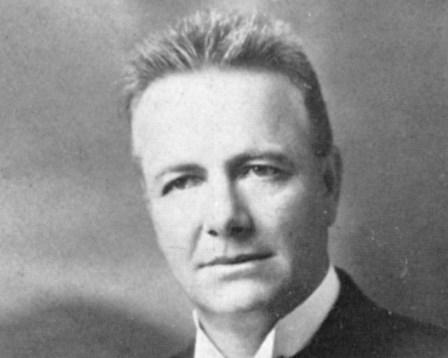 1923-1924 Bethany College president Albert F. Winter.