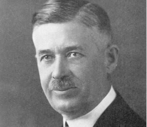 1925-1929 Bethany College president Holden M. Olsen.