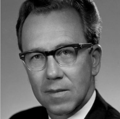 1970-1977 Bethany College president Raymond M. Branstad.