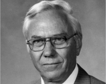1978-1983 Bethany College president Norman S. Holte.