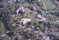 Aerial photograph of Bethany Lutheran College campus taken in an unknown year.