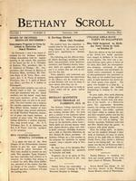 """Bethany Scroll,"" Bethany Lutheran College, Mankato, Minnesota, November 1926, Volume 1 Number 2"