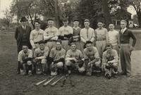 Bethany Lutheran College 1937 portrait of men's baseball team