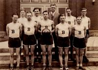 Bethany Lutheran College 1928-29 portrait of men's basketball team