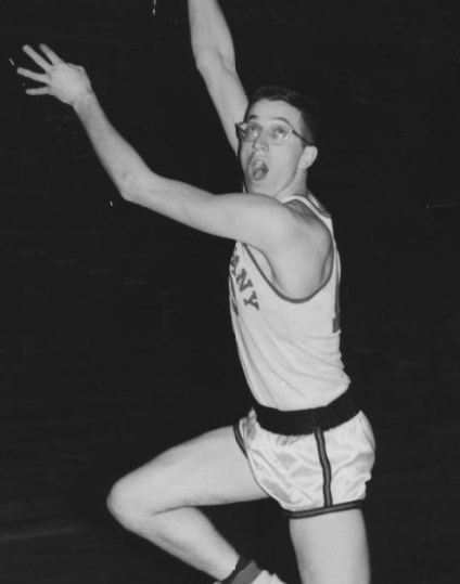 Bethany Lutheran College 1954-1955 snapshot of All-American, Bruno Wilinski