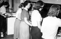 Serving Line pre 1954
