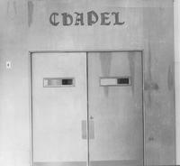 Old Main Chapel Doors 1950s-70s