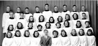 Bethany Lutheran College 1943 Choir Directed by G. Weller
