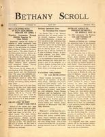 """Bethany Scroll,"" Bethany Lutheran College, Mankato, Minnesota, April 1927, Volume 1 Number 7"