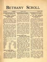 """Bethany Scroll,"" Bethany Lutheran College, Mankato, Minnesota, February 1927, Volume 1 Number 5"