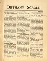 """Bethany Scroll,"" Bethany Lutheran College, Mankato, Minnesota January 1927, Volume 1 Number 6"
