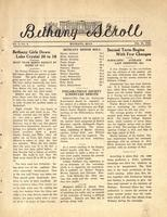 """Bethany Scroll,"" Bethany Lutheran College, Mankato, Minnesota, February 20, 1929, Volume 3 Number 4"