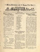 """Bethany Scroll,"" Bethany Lutheran College, Mankato, Minnesota, December 19, 1928, Volume 3 Number 3"