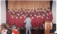 Bethany Lutheran College 1986 Choir at Mt. Olive Church