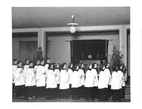Bethany Lutheran College 1942 Choir Christmas