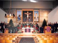 Bethany Lutheran College 1990s Choir at Christmas