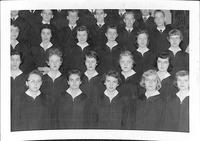 Bethany Lutheran College 1955(?) Choir Detail