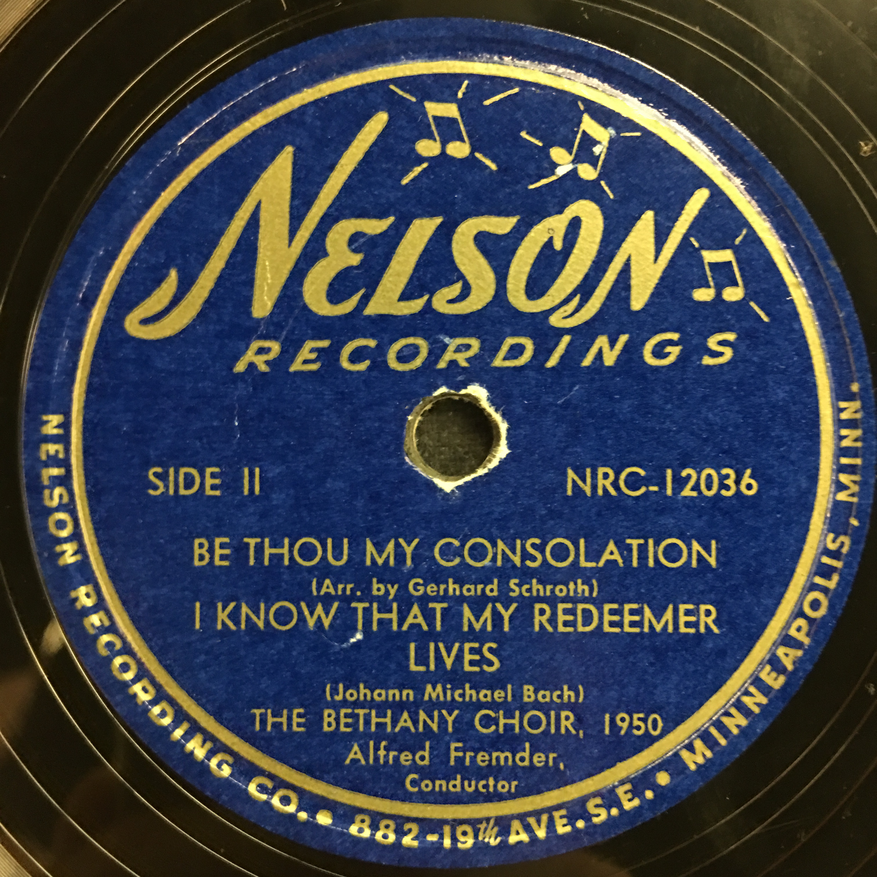 The Bethany Choir 1950: Sing Praises, Ye Faithful Vinyl 1 Side 2
