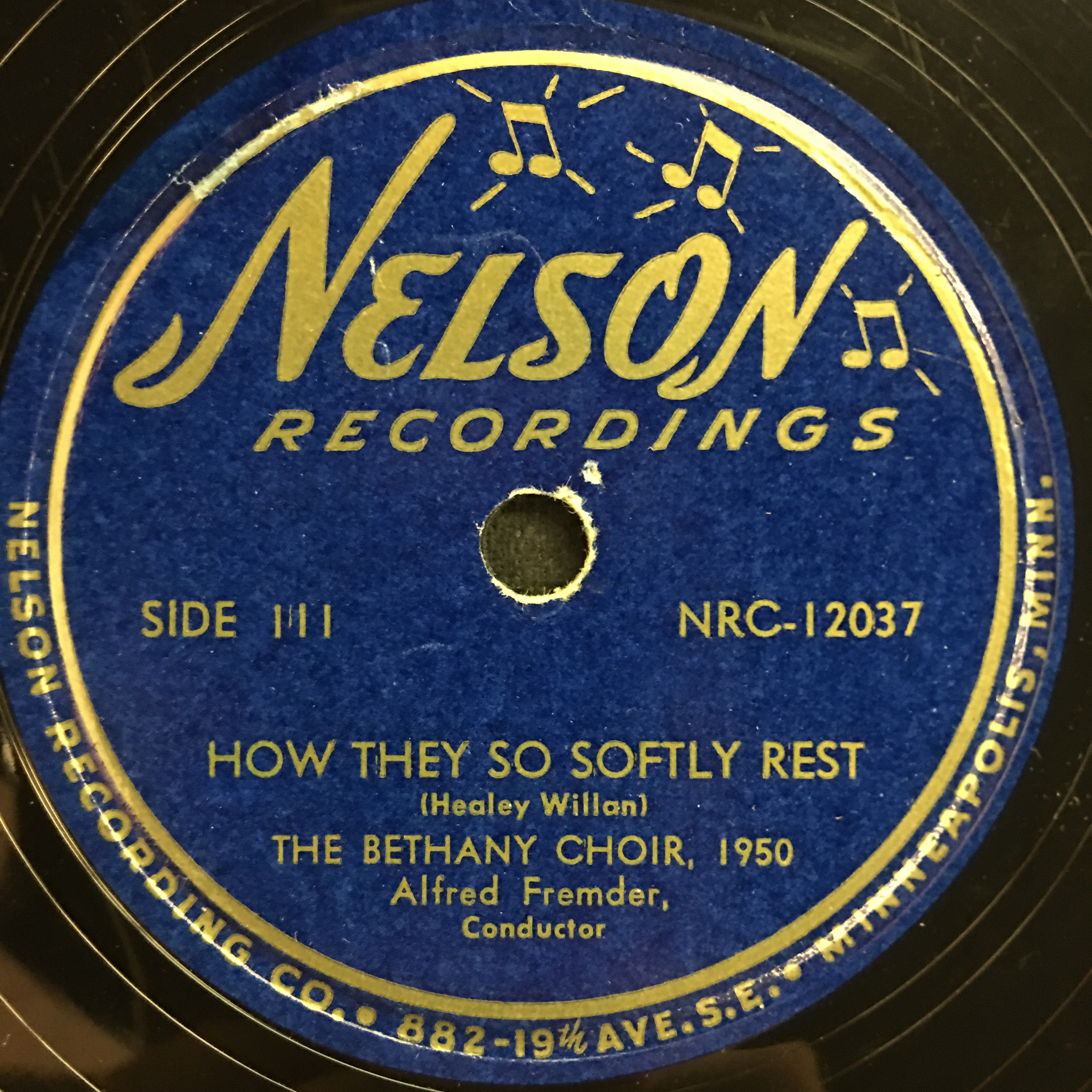 The Bethany Choir 1950: Sing Praises, Ye Faithful Vinyl 2 Side 1