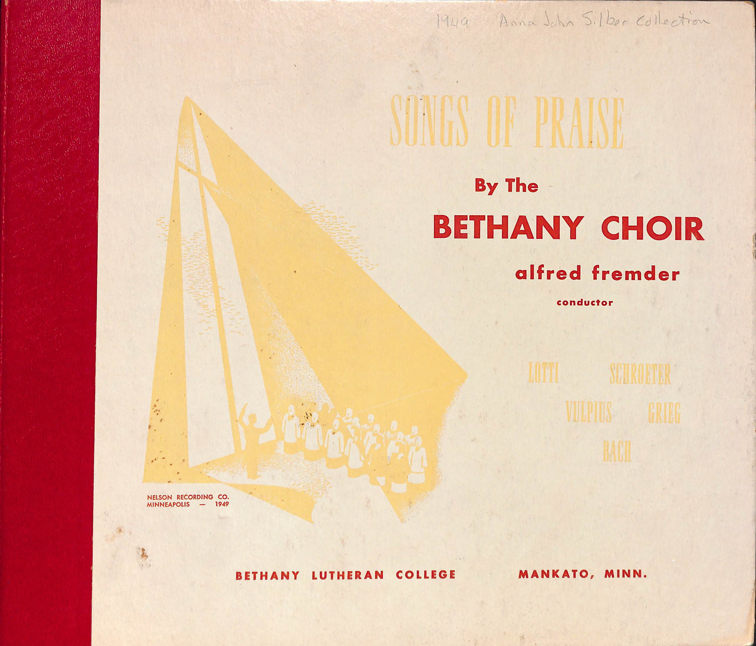 The Bethany Choir 1949: Songs of Praise
