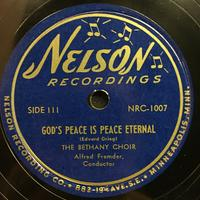 The Bethany Choir 1949: Songs of Praise Vinyl 2 Side 1