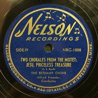 The Bethany Choir 1949: Songs of Praise Vinyl 2 Side 2