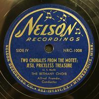 The Bethany Choir 1949: Songs of Praise Vinyl 2 Side 2