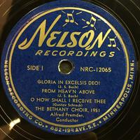 The Bethany Choir 1951 Vinyl 1 Side 1