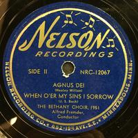 The Bethany Choir 1951 Vinyl 1 Side 2