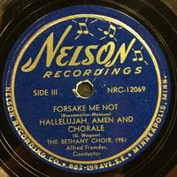 The Bethany Choir 1951 Vinyl 2 Side 1