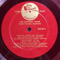 The Bethany Choir 1955 Vinyl 1 Side 1