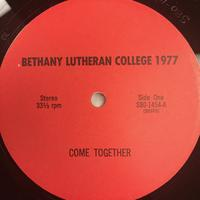 The Bethany Lutheran College Choir 1977 Vinyl 1 Side 1