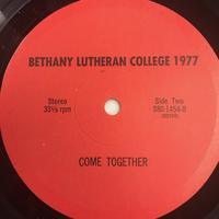 The Bethany Lutheran College Choir 1977 Vinyl 1 Side 2