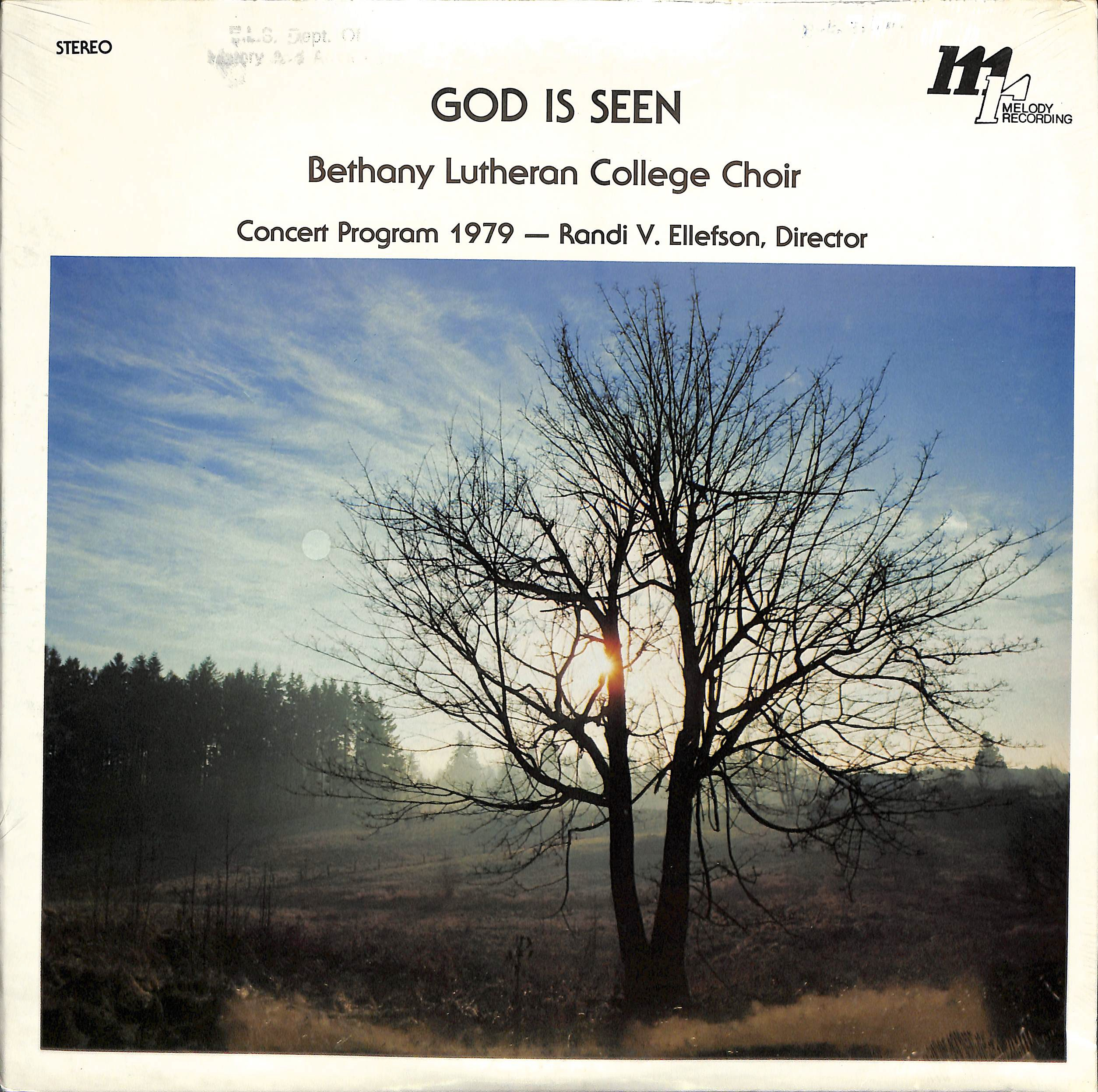 The Bethany Lutheran College Choir 1979: God is Seen