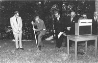 1967 Library Groundbreaking