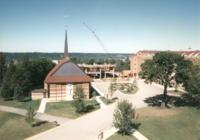 1998 Aerial of the Library