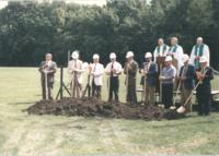 1998 Memorial Library Groundbreaking