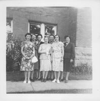 Women Pose for a Picture at Bethany Lutheran College