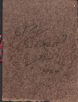 1924 Bethany Scrapbook